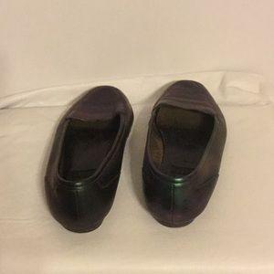 deja vu designs Shoes - Green with Envy Color Shifting Flats